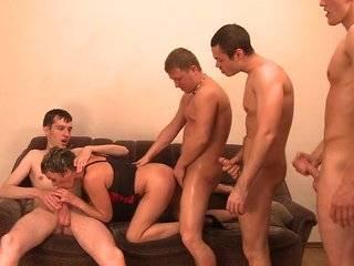Порнооргия русской зрелой